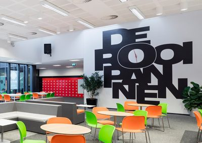 De Rooi Pannen VMBO Eindhoven aula