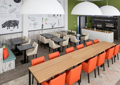De Rooi Pannen VMBO Eindhoven brasserie