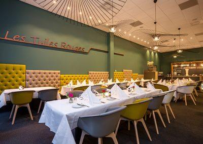 """De Rooi Pannen Horeca Eindhoven restaurant """"Les Tuiles Rouges"""""""