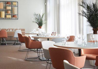 Rooi Pannen Tilburg Restaurant La Capuce - Plafond